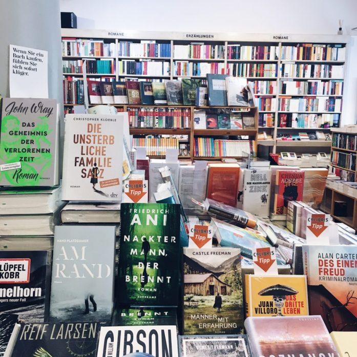 Die besten Buchhandlungen in München - Colibris