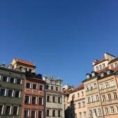 Warschau im Herbst