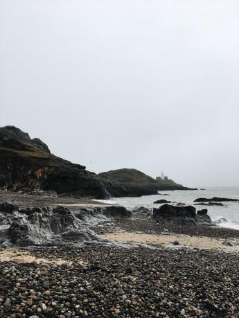 Winter in Wales: Bracelet Bay