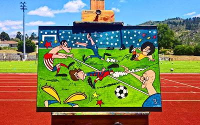 """Crazy Soccer"", de Mutes Pintor"