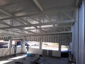 Projeto estrutural de barracao