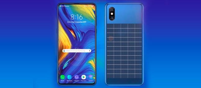 Xiaomi registra patente de smartphone com painel solar para manter bateria cheia