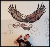 Revolution Ink Tattoo gallery and artists - Eanna