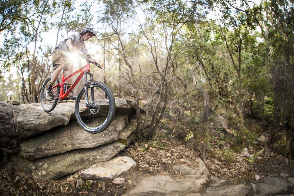 Letting the Scout get over it's head is a whole lotta fun! Rider // Matt Holmes Photo // Tim Bardsley-Smith