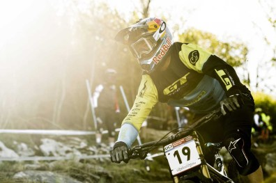 Brook Macdonald performs at UCI DH World Cup in Lourdes, France on April 30th, 2017 // Bartek Wolinski/Red Bull Content Pool