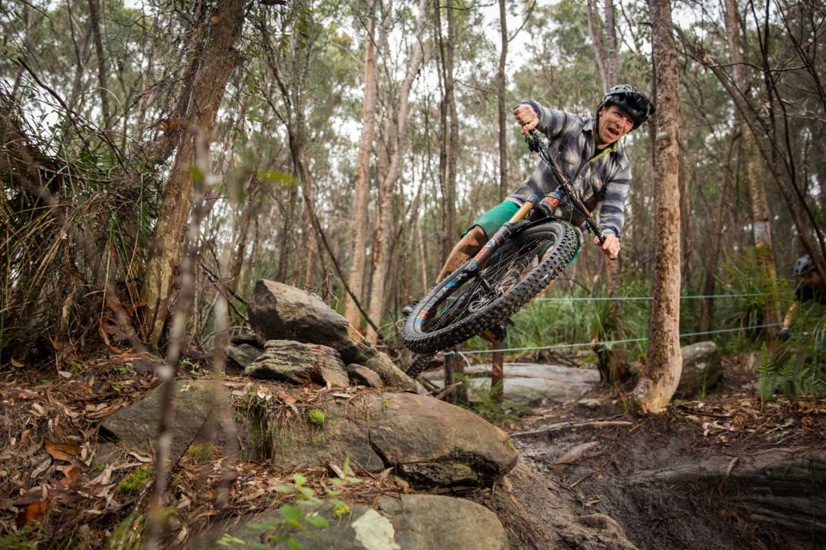 Great trails?…this face says it all. Pic: ©Richard McGibbon