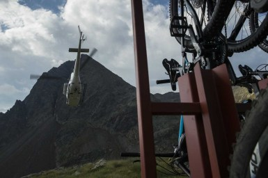 Giant Reign Advanced 0 Launch in Santa Caterina, Italy