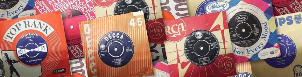 """7"""" singles by Decca, Top Rank, Philips, RCA"""