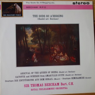 ASD 458 The Gods Go A'Begging etc. / Thomas Beecham RPO W/G