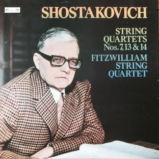 DSLO 9 Shostakovich String Quartets Nos.7,13 & 14 / Fitzwilliam String Quartet