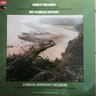 ASD 3006 Grace Williams Fantasia on Welsh Nursery Tunes, etc. / Groves / LSO