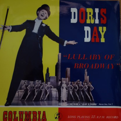 "33S 1038 Doris Day Lullaby of Broadway 10"" LP"