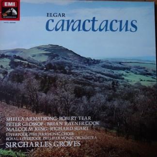SLS 998 Elgar Caractacus / Groves / RLPO etc. / 2 LP box HP List