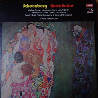 SLS 884 Schoenberg Gurrelieder / Janos Ferencsik / Danish State RSO 2 LP box