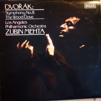 SXL 6750 Dvorak Symphony No. 8 / The Wood Dove / Mehta / LA Phil