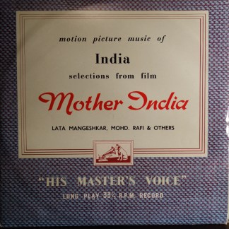 ECLP 2251 Mother India - Selections from the film, rare soundtrack