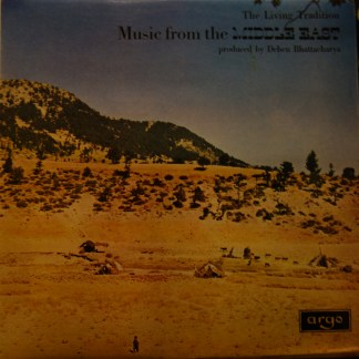 ZFB 46 The Living Tradition Music From Turkey / Deben Bhattacharya