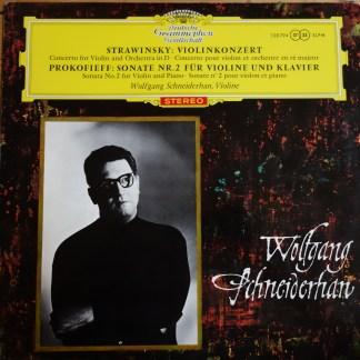 138 794 Stravinsky Violin Concerto / Prokofieff Sonata No. 2 / Schneiderhan TULIP