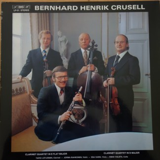 BIS LP-51 Crusell Clarinet Quartets