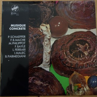 STGBY 639 Musique Concrete - Schaeffer, Bayle, Maelc, etc. / Studios of the Group De Researches Musicales, ORTF Paris