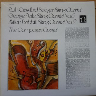 H-71280 Seeger / Perle / Babbit / Composers Quartet