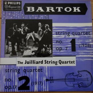 ABL 3064 Bartok String QuartetNo. 1 & No. 2 / Juilliard String Quartet