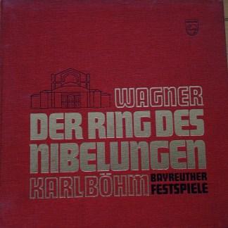 6747 037 Wagner Der Ring Des Nibelingen / Bohm / Bayreuth Festival 16 LP box