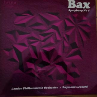 SRCS 58 Bax Symphony No. 5 / Leppard / LPO