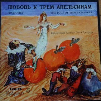 ABL 3150/51 Prokofiev Love of Thee Oranges / Slovenian National Opera