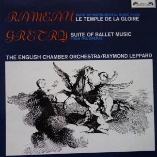 SOL 297 Rameau Temple de la Gloire / Gretry Ballet Music
