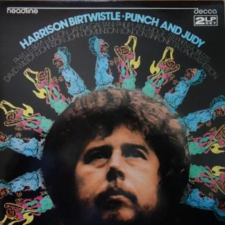 HEAD 24/25 Harrison Birtwistle Punch & Judy 2 LP set