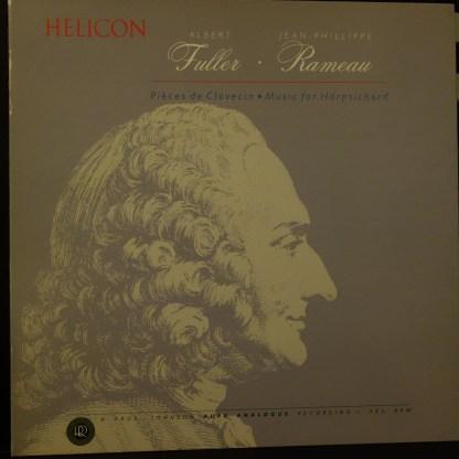 RR-27 Rameau Music For Harpsichord / Albert Fuller