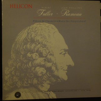 RR-27 Rameau Music For Harpsichord / Albert Fuller