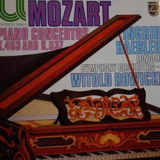 6580 043 Mozart Piano Concertos K.453 & K.537 / Ingrid Haebler
