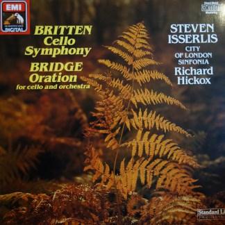 EL 7 49716 1 Britten Cello Symphony / Bridge Oration / Steven Isserlis