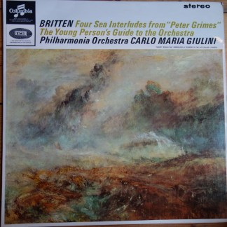 SAX 2555 Britten Four Sea Interludes / Young Person's Guide