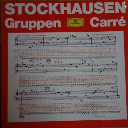 137 002 Stockhausen Gruppen, Carre