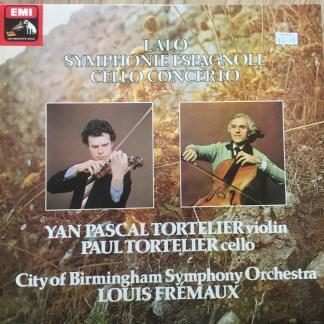 ASD 3209 Lalo Symphonie Espagnole / Cello Concerto