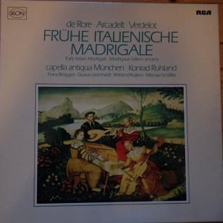 RL 30354 Early Italian Madrigals / Capella Antiqua Munchen