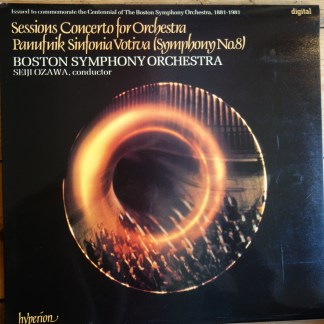 A66050 Sessions Concerto For Orchestra / Panufnik Sinfonia Votiva