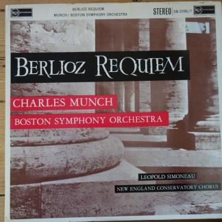 SB 2096/7 Berlioz Requiem / Munch / BSO