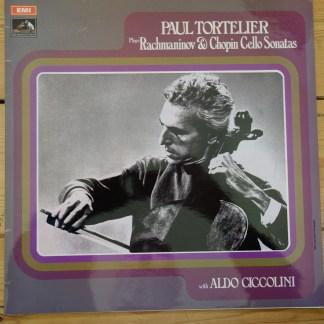 ASD 2587 Rachmaninov & Chopin Cello Sonatas / Paul Tortelier / Ciccolini