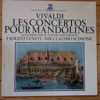 STU 70545 Vivaldi Concertos For Mandolines