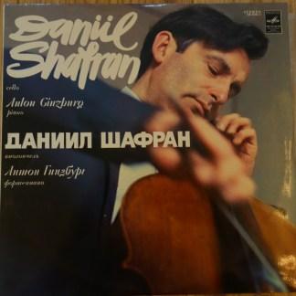 CM 01937-38 Franck / Debussy Cello Sonatas / Daniel Shafran