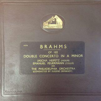 DB 6120-23 Brahms Double Concerto / Heifetz / Feuermann / Ormandy