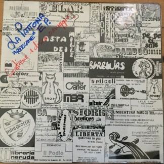 LA PATTONA reclame ITALIAN NEW WAVE SEALED LP