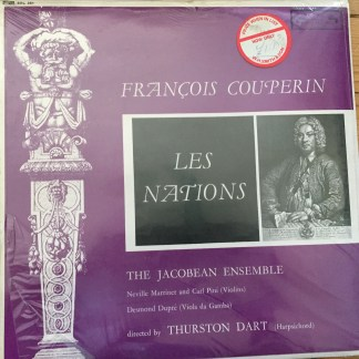 SOL 251 Couperin Les Nations / Jacobean Ensemble