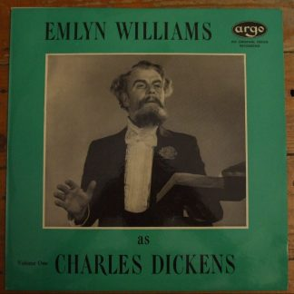 RG 231 Emlyn Williams as Charles Dickens Volume One