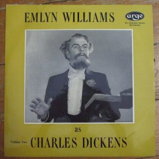 RG 231 Emlyn Williams as Charles Dickens Volume Two