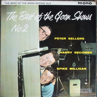 PMC 1129 The Best of the Goon Shows No 2 / Sellers, Seacombe, Milligan B/G